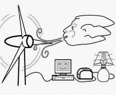 Enerji tasarrufu ile ilgili boyama sayfaları...