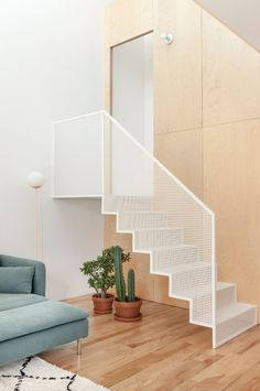 Quirky Home Decor Interior Stairs, Interior Architecture, Interior And Exterior, Interior Design, Escalier Design, Regal Design, Modern Stairs, House Stairs, Staircase Design