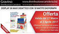 PRODOTTI DELLA SETTIMANA! In offerta dal 27 Marzo al 2 Aprile - Consegna in tutta Italia! Per vedere i prezzi clicca qui: http://shop.distribuzionecartoleria.biz/specials.html