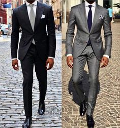 Whether you wear suits to work each day, or only once every so often, you will gain from the timeless classic man outfit for work. Most suits are made from wool. Mens Fashion Suits, Mens Suits, Fashion Outfits, Fashion Fashion, Sharp Dressed Man, Well Dressed Men, Suit Combinations, Herren Outfit, Suit And Tie