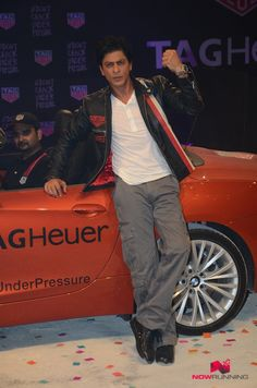Shah Rukh Khan launches Tag Heuer's 'Don't Crack Under Pressure' initiative