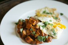 Recipe: Curried Celeriac with Eggs. What if huevos rancheros took a trip to India? They'd probably taste a lot like the spicy #eggs in this recipe. If you like a milder taste, just tone down the chili powder and cayenne. This dish is excellent on its own or can be served with sausage, bacon, or any leftover meat.