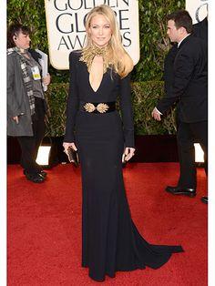 1/13 Golden Globes Best Dressed 2013 - Golden Globes Red Carpet 2013 - Cosmopolitan Alexander McQueen