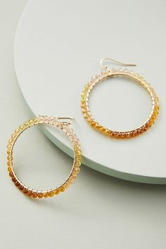 Jewelry & Accessories 100% True 1 Pair Summer Style Rhinestone Inlaid Hoop Round Woman Earrings Dia 5mm Color Gold Color Charming Jewelry Drop Earrings