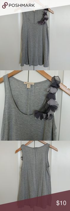 F21- Floral Tank F21 - Gray top Forever 21 Tops Tank Tops