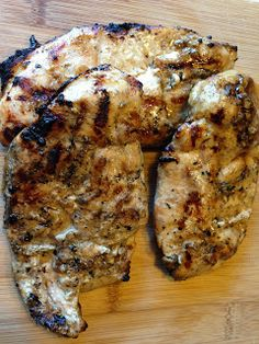 Balsamic Marinated Chicken Breasts More