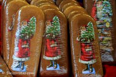 Christmas in Switzerland - Samichlaus gingerbread