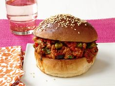 Bombay Sloppy Joes, great for cooking with kids!