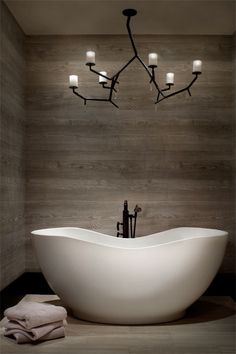Master Bathroom, Snowdays Residence by Locati Architects
