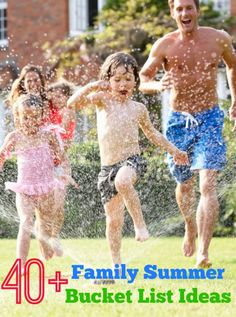 40+ Family Summer Bucket List Ideas | eBay (spon) SUCH an awesome list to give you ideas to spend together as a family this summer!