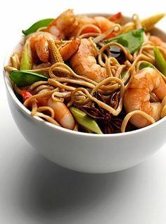 My Slimming World Syn Free King Prawn Stir Fry Look at link for recipe Prawn Recipes, Seafood Recipes, Asian Recipes, Vegetarian Recipes, Cooking Recipes, Healthy Recipes, Savoury Recipes, Free Recipes, Healthy Food