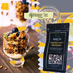 Its hard to beat the taste of Toasted Honey & Macadamia nut cereal because it is a healthy food and full of fibers, nutrients, etc. You can enjoy it as a breakfast. Healthy Cereal, Healthy Breakfast Recipes, Healthy Recipes, Cereal Recipes, Whole Food Recipes, Organic Cereal, Whole Grain Cereals, Crunchy Granola, Mulberry Tree