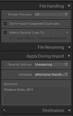 Info on how to keep files organized in Lightroom  Mastering Lightroom: Basic Post-Processing Workflow