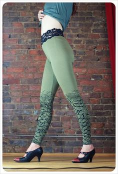 mermaid lace-topped stockings