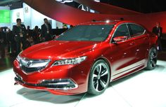 The Acura TLX Concept. Detroit Auto Show Jan2014