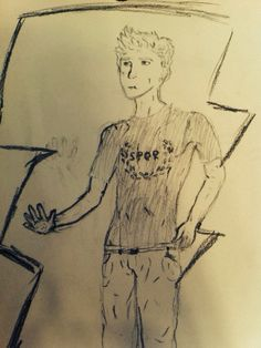 Just attempted to draw Jason grace tell me what you think also if you repin please give me credit