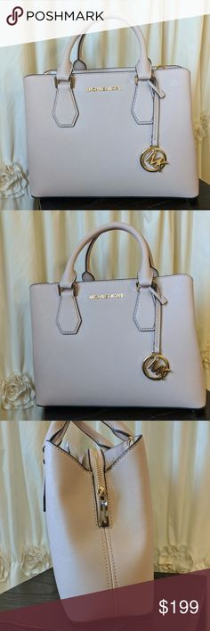 dfe89d1f2c49 NWT Michael Kors Camille MD Leather Satchel Ballet Ladies!! This bag is  PERFECT for