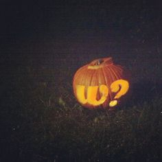 Even on pumpkins!