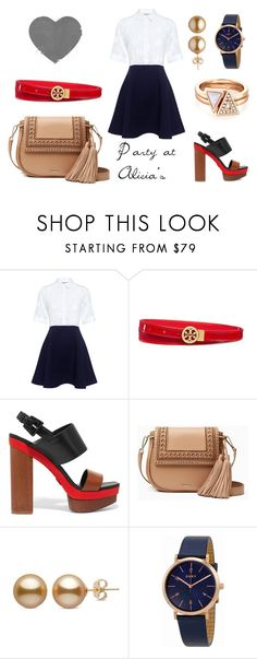 """""""4th Party at Alicia's"""" by massieblock2003 on Polyvore featuring Paul & Joe Sister, Tory Burch, Michael Kors, Kate Spade and DKNY"""
