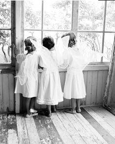 vintage   childhood   angels and fairies