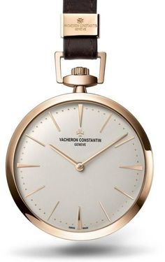 The Vacheron Constantin Patrimony Contemporaine pocket watch, with its elegant and super stylish design, is really quite something...