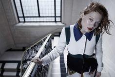 Lea Seydoux by Michelangelo Di Battista for Vogue Italia February 2014