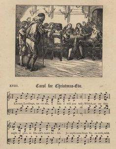 Sheet Music from Henry Ramsden Bramley and John Stainer, Christmas Carols New and Old (London: Novello, Ewer & Co. Christmas Carol, Vintage Christmas, Christmas Trees, The Night Before Christmas, All Things Christmas, Old Sheet Music, Music Sheets, Christmas Printables, Christmas Crafts