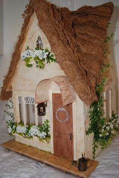 Storybook Cottage by Gammie's Little House...Hansel and Gretel or Snow White's ?