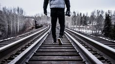 Train Tracks // Photography // Winter Photo by Redd Angelo on Unsplash Denise Austin, Indie, Grunge, Hobbies That Make Money, Packing For A Cruise, Hipster, How To Gain Confidence, Minimalist Lifestyle, Train Tracks