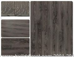 BuildDirect: Luxury Vinyl Tile 3mm Vinyl Planks   Sequoia Collection   Aspen Grey