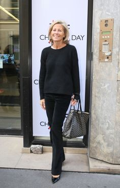 "Claire Chazal à la 11ème édition du ""BGC Charity Day"" à Paris, 11 septembre 2015"