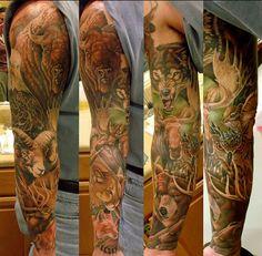 Tatoeage animals
