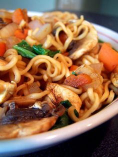 Quick Ramen Noodles Lunch – Take II, sounds good could add other kinds of veggies or chicken.