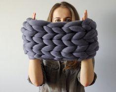 Super gruesa bufanda infinita. Chimenea. Redecilla. por Ohhio