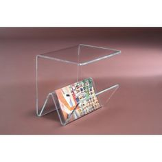 Fa tavolino portariviste in plexiglass Acrylic Furniture, Acrylic Organizer, Plexus Products, Display, Future, Storage, Room, Inspiration, Accessories