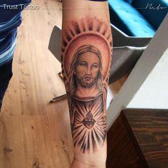 Tatuagem Imagem Jesus Sagrado Coração
