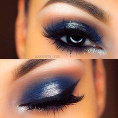 How to Rock Blue Makeup Looks - Blue Makeup Ideas & Tutorials