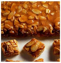 Hulett's Recipe for Chocolatey Peanut Brittle provides you with the well-known nutty crunch sensation you're used to while adding in the chocolately twist. Peanut Brittle, Golden Syrup, Yummy Cakes, Fudge, Baking Soda, Waffles, Cake Recipes, Sweets, Candies