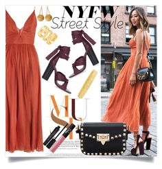 """#Contest - NYFS Street Style"" by caroolnunees ❤ liked on Polyvore featuring Zimmermann, Topshop, ChloBo, Robert Coin, NARS Cosmetics, Smashbox, women's clothing, women, female and woman"