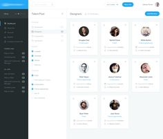 Hey Dribbblers!  Here is a next design for website which allow you to easy recruiting people. This time I had to create a Talent Pool, which is a place where you can save candidates for later if th...