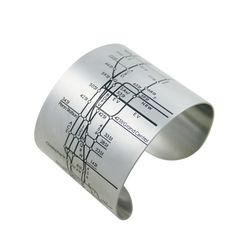 :: Braceletes com mapas do Metrô de NY, Paris, Londres, São P... ok, São Paulo ainda não.