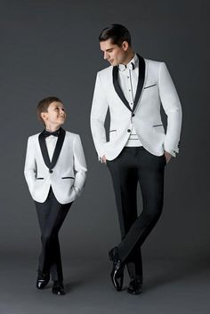 White jacket Black Pants Mens Wedding Suits Groom Tuxedos Groomsman Suits Blazer | eBay