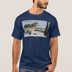 Winter - Wolf T-Shirt - winter gifts style special unique gift ideas