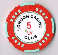 5 LV LONDON CASINO CHIP