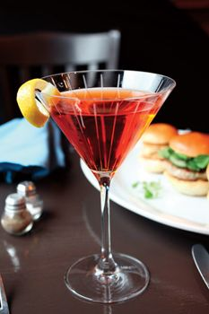 12 Grapes serves up Andrea's Basil Martini - 914INC. - Q1 2013 - Westchester, NY