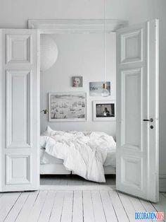 My scandinavian home bedroom interior design for Decoraciones de casas por dentro