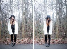 H&M Hat, H&M Jacket, Topshop Trousers, Topshop Boots
