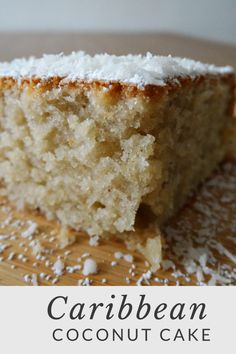 It's boiling hot here in Toronto and even though it's that time of the year when you don't want to bake, I was craving for a coconut cake. Coconut cake is one of my … Carribean Desserts, Carribean Food, Caribbean Recipes, Caribbean Bakes Recipe, Carribean Party, Caribbean Rum Cake, Jamaican Desserts, Jamaican Dishes, Jamaican Recipes