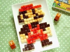 How to make Super mario's toast plate