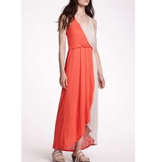 Anthropologie Addison Story Half-Day Maxi Dress